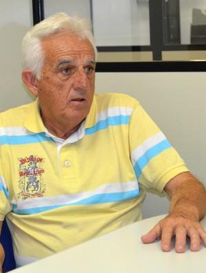 Presidente do São José-SP, Geléia (Foto: Danilo Sardinha/Globoesporte.com)