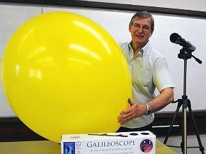 Professor João Canalle, da Olimpíada Brasileira de Astronomia e Astronáutica (Foto: Divulgação)