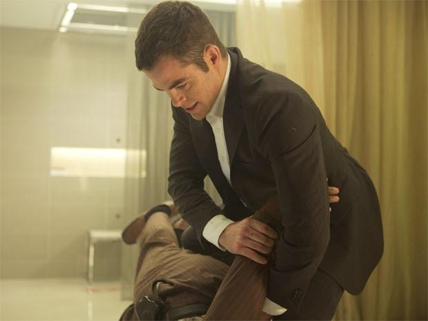 Chris Pine em 'Operação sombra - Jack Ryan' (Foto: Divulgação)