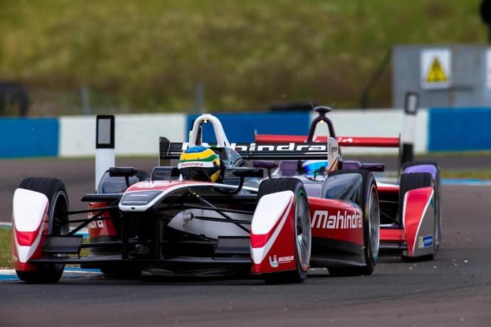 Bruno Senna foi o quinto mais rápido do dia na Fórmula E, em Donington Park (Foto: Divulgação/Fórmula E)