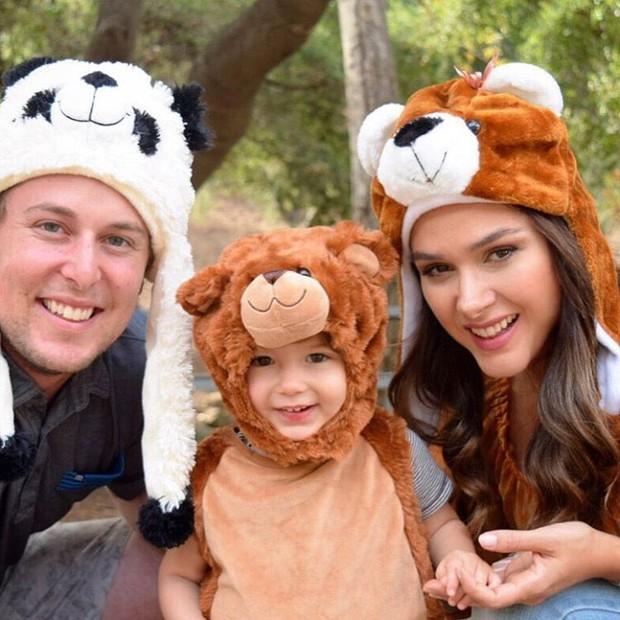 Fernanda Machado e família (Foto: Reprodução/Instagram)
