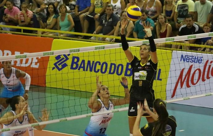 Rio do Sul x Osasco Superliga (Foto: Clóvis Eduardo Cuco/Rio do Sul)