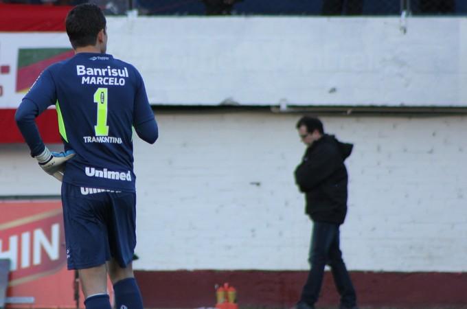 Marcelo Grohe quer vitórias para se reconciliar com torcida (Foto: Diego Guichard)