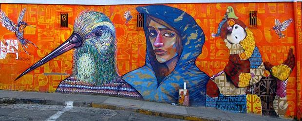 Valparaíso, meca cultural do Chile, é considerado patrimônio da humanidade pela Unesco desde 2003 (Foto: Reprodução/Flickr)