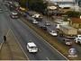 BH - 17h35: Rodovia Fernão Dias tem pontos de lentidão no sentido MG