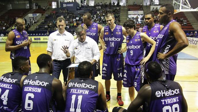 Paco García - Palmeiras x Mogi - NBB (Foto: Cleomar Macedo)