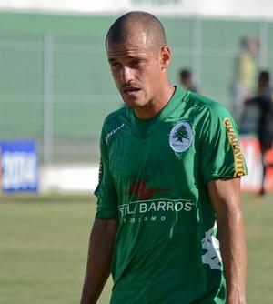 Thiaguinho, lateral do boavista (Foto: Léo Borges/NaJogada)