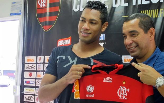 Hernane Flamengo Zinho (Foto: Janir Junior / Globoesporte.com)