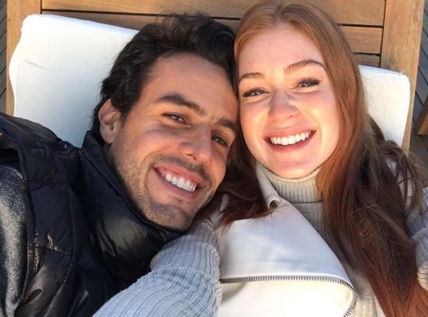 Xandinho Negrão e Marina Ruy Barbosa (Foto: Reprodução/Instagram)