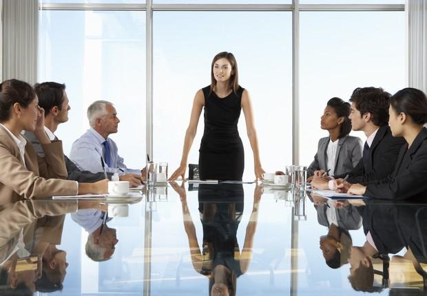 líder; liderança; reunião  (Foto: Thinkstock)