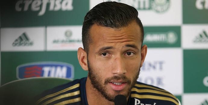 Leandro Pereira Palmeiras (Foto: Cesar Greco/Ag Palmeiras/Divulgação)