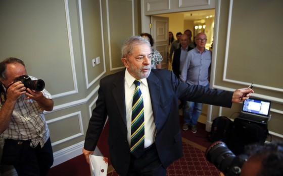 O ex-presidente Lula  (Foto: Andre Penner/AP)