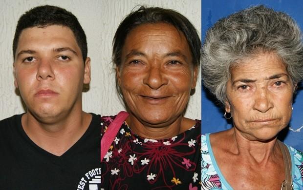 Suspeitos foram detidos na agência da Caixa. (Foto: Divulgação/Polícia Federal)