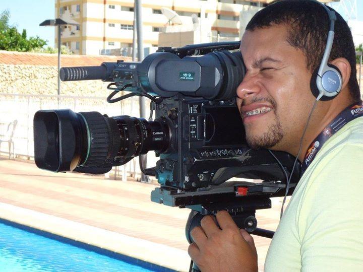 Lucimário foi contratado pela TV Grande Rio em abril deste ano (Foto: Reprodução redes sociais)