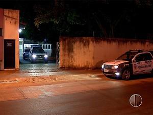 Motim aconteceu na noite desta quinta-feira (10) (Foto: Reprodução/Inter TV Cabugi)