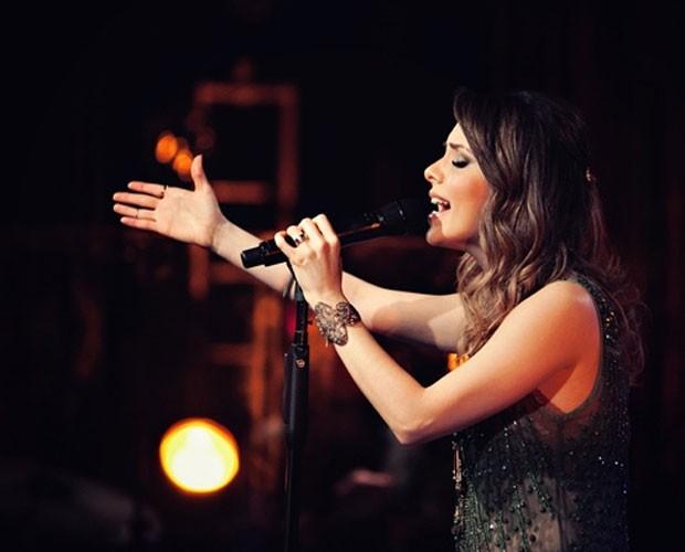 Sandy se apresentando em seu show (Foto: Noely Pereira Lima/Divulgação)