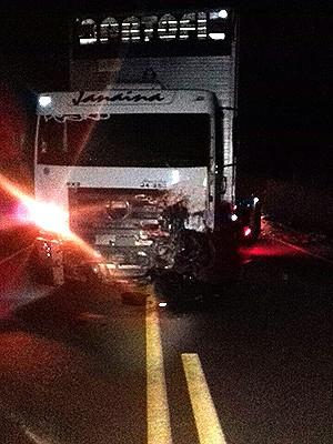 Acidente aconteceu na BR-010, em Açailândia (MA) (Foto: Divulgação/PRF-MA)