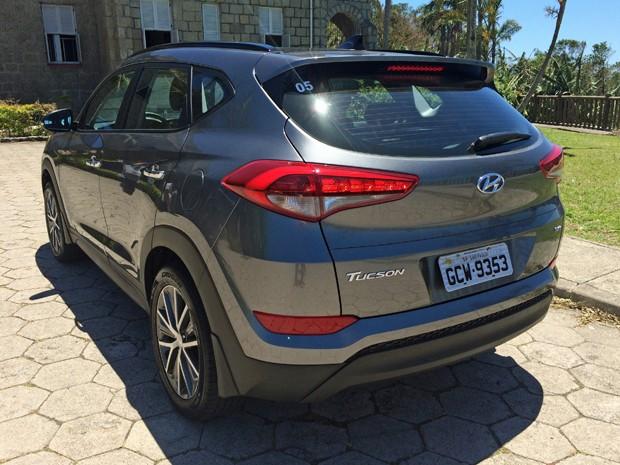 Hyundai Tucson 2017 (Foto: André Paixão/G1)
