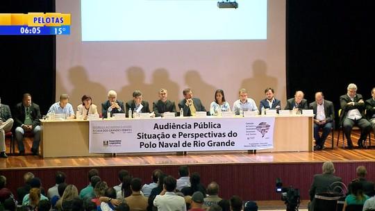 Audiência pública em Rio Grande busca soluções para polo naval