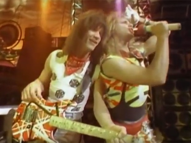 Clipe de 'Panama', do Van Halen (Foto: Divulgação)