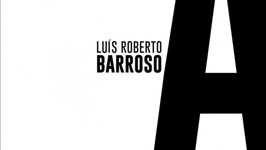 Roberto D'Avila entrevista Luís Roberto Barroso, ministro do STF