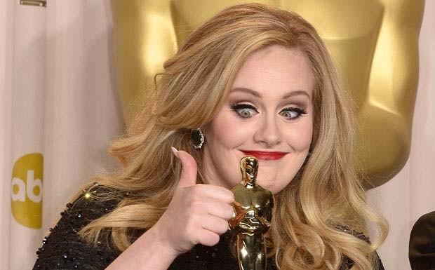 Adele Oscar Thumbs (Foto: Multishow)