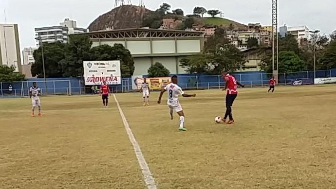 Vitória-ES e Espírito Santo empatam no jogo de ida da semifinal da Copa ES (Foto: Richard Pinheiro)