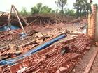 Tempestade e vendaval causam prejuízos em sete cidades do Paraná