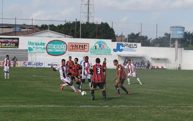 Santa Rita x São Luiz, Segunda Divisão do Alagoano (Foto: Leonardo Freire/GLOBOESPORTE.COM)