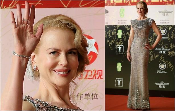 A premiada atriz Nicole Kidman mede 1,80m. (Foto: Getty Images)