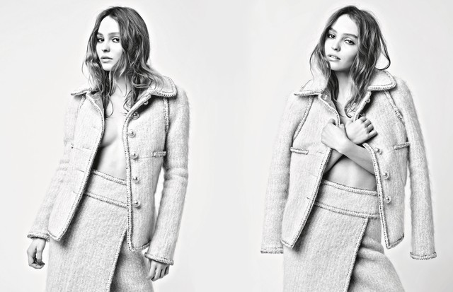 Lily-Rose Depp na campanha de inverno 2018 da Chanel (Foto: Reprodução)