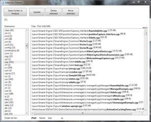 Extension Indexer, organizar arquivos