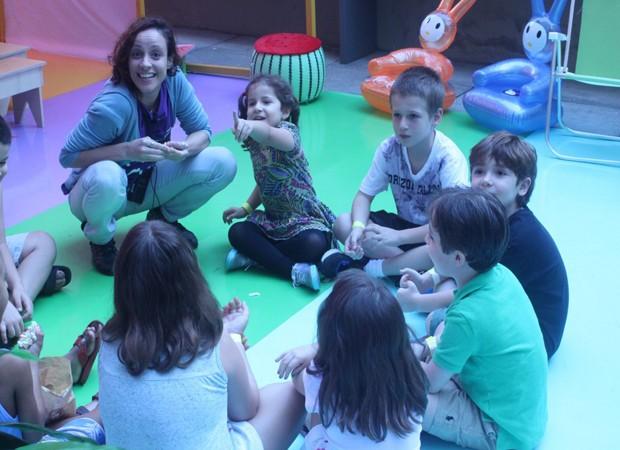 A Ocupação oferece inúmeras atividades para as crianças (Foto: Divulgação)