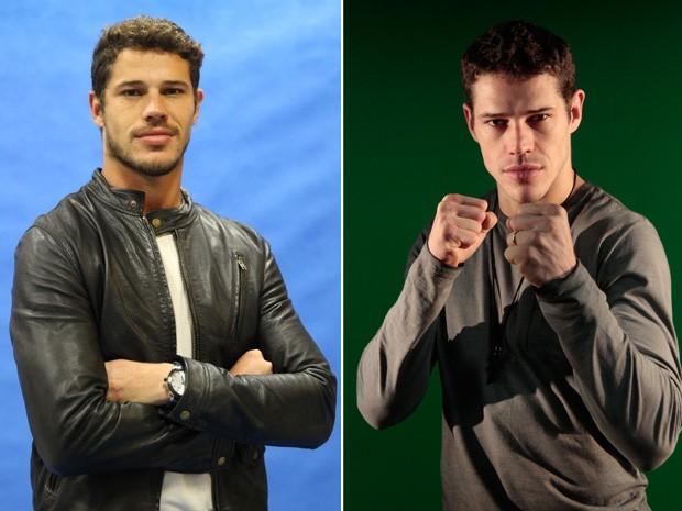 Confira o antes e depois do ator José Loreto (Foto: Gshow)