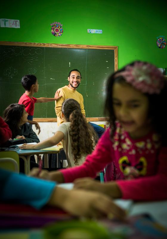 Elvis da Silva,23,odiava a escola até conhecer  a Vocação  (Foto:  Anna Carolina Negri/ÉPOCA)