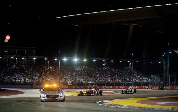 safety car cingapura formula 1 (Foto: AFP)