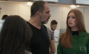 Eliza se preocupa com atraso de Arthur