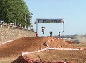Final do Circuito Inter TV Norte-Mineiro de Motocross foi em Pirapora. (Foto: Reprodução/InterTV)