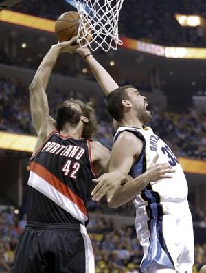 Portland Trail Blazers x Memphis Grizzlies, NBA (Foto: AP)