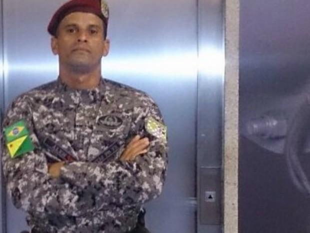 Policial foi um dos 180 enviados ao RJ para Olímpiada  (Foto: Arquivo da família)