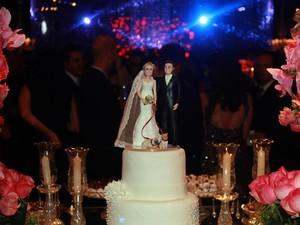 Bolo do Casamento (Foto: Celso Tavares/EGO)
