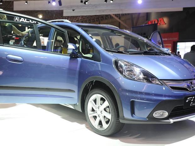 Honda apresenta o Honda Fit Twist (Foto: Raul Zito/G1)