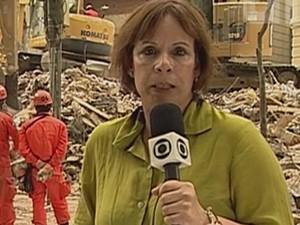 Sandra Moreyra TV Globo (Foto: Reprodução)
