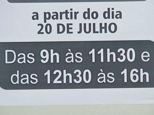 Prefeituras têm encerrado expediente mais cedo (Foto: Reprodução / TV TEM)