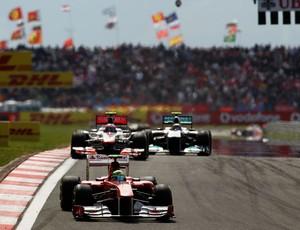 Felipe Massa venceu três das sete edições do GP da Turquia (Foto: Getty Images)