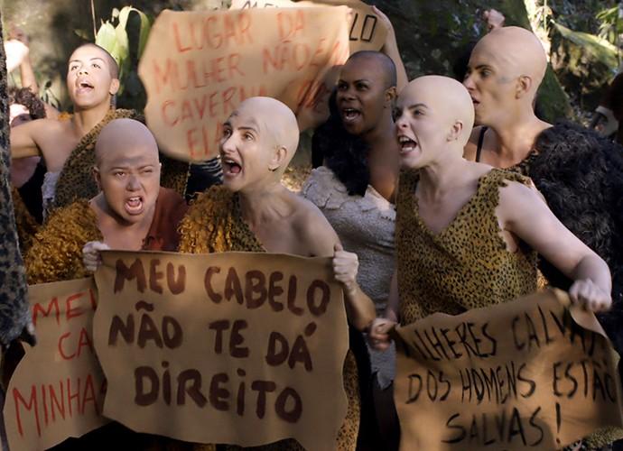 A igualdade começou muito cedo (Foto: TV Globo)
