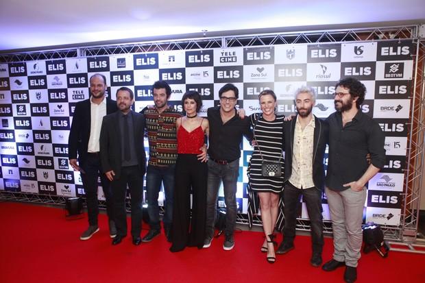 Elenco do filme Elis (Foto: Anderson Barros / Ego)