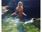 Fiorella Mattheis posa de biquíni: 'Preciosidade'
