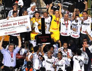 Corinthians campeão da Libertadores (Foto: AFP)