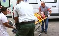 Motociclista fica ferido em Coronel Fabriciano
